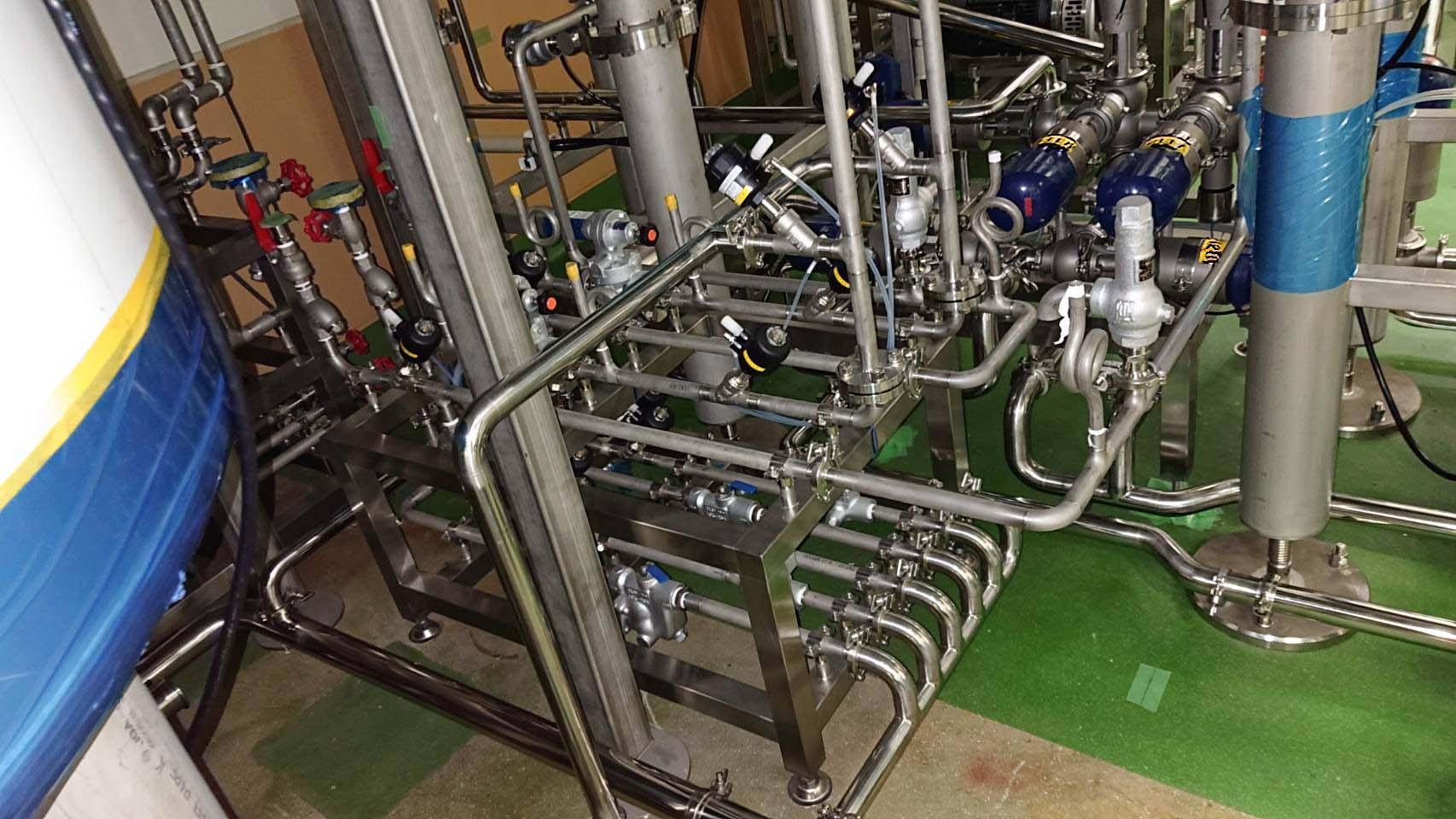 サニタリー配管 設置