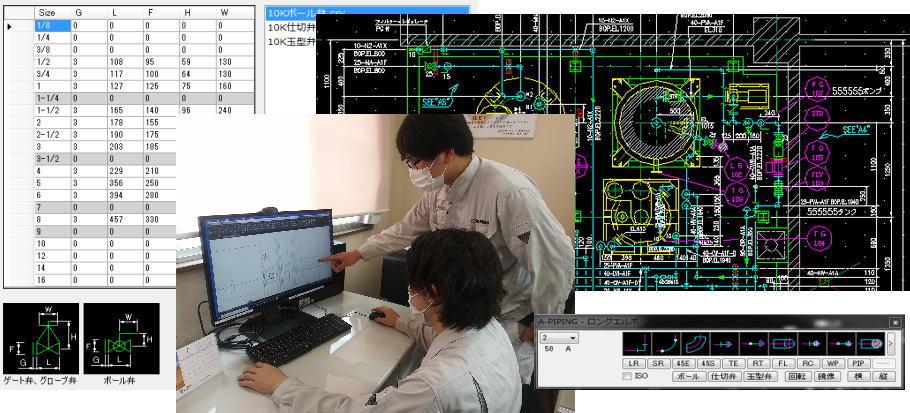 設計~ユニット施工~検査のイメージ